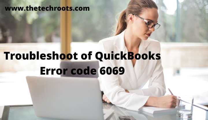 QuickBooks error code 6069