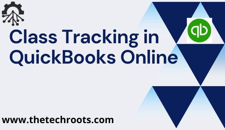 Class Tracking in QuickBooks Online